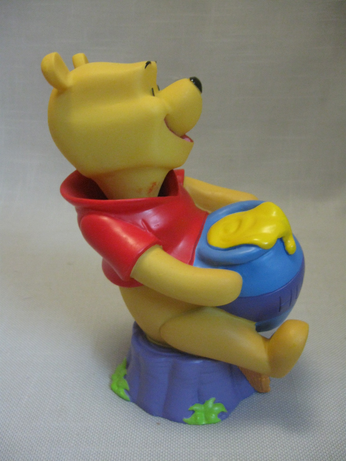 Winnie The Pooh Bobble Head Plastic Bowl Pooh & Pigglet ...