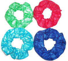 Hair Scrunchie Red Blue Green Teal Blenders Colors Fabric Scrunchies by ... - $6.99+