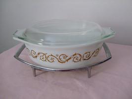 "Vintage Pyrex #043--""Empire Scroll"" casserole - $40.00"