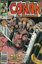 Conan The Barbarian 222 Marvel Comic Book Sept 1989 - $1.99