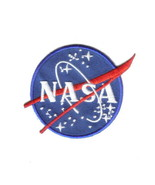 NASA US Space Agency Logo Embroidered Patch, NEW UNUSED - $7.84