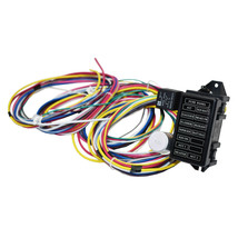 12 Circuit Universal Wiring Harness Muscle Car Hot Rod Street Rod XL Wires image 2