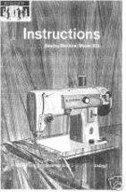Vintage Singer 223 Sewing Machine Owner Manual Book M - $9.99