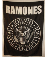 Ramones Tommy Joey Johnny Deedee Cloth Poster F... - $13.84