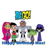 Teen Titans Go! Edible Frosting Sheet Cake Topper [Misc.] - $7.99
