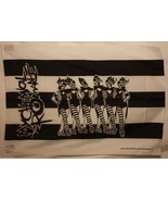 MY CHEMICAL ROMANCE DEATH CABARET Cloth Fabric ... - $13.84