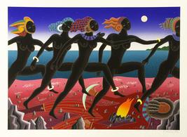 "Thomas McKnight ""Running Nubian"" 1994 - Signed Serigraph - See Live at G... - $1,200.00"