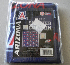 "Northwest University of Arizona Fabric Shower Curtain 72"" x 72"" RECURRING LOGO - $25.99"