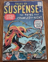 Tales of Suspense 1962 Feb26 Vista Publishing Comic Book - $89.95