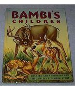 Child's Wonder Book, Bambi's Children - $7.95