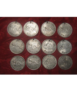 Wholesale  Lot  Of  8  Chinese  Dragon Coin Pendants 4 Novelty Coins - $24.00