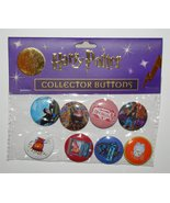 Harry Potter Collector Buttons Set 4 - $23.99