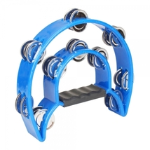 Two-ring Hand Rattles Drum Blue  - $29.99
