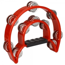 Two-ring Hand Rattles Drum Red - $29.99