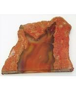 Red Agate Gemstone Slab Cabbing Rough - $7.88
