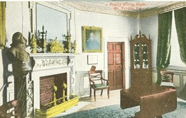 Family Dining Room, Mt. Vernon, VA, early 1900s unused Postcard  - $4.99