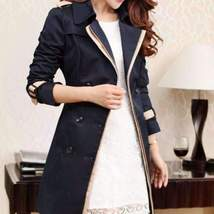 Belted Wrest Women Trench Coat - $57.00