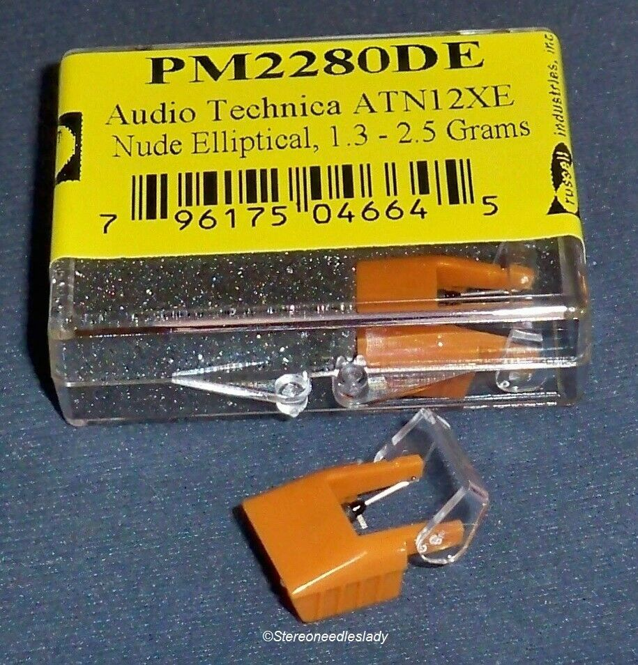 NUDE DIAMOND NEEDLE EV PM2280DE for Audio Technica ATN-12XE AT-12XE 201-DEX