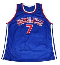 Toni kukoc  7 jugoslavija new men basketball jersey blue   1 thumb200