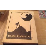 GOLDEN EMBERS 1976  CHAPARRAL  HIGH SCHOOL YEARBOOK  ARIZONA - $37.26