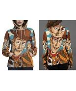 Woodie Toy Story 2 Hoodie Zipper Fullprint Women - $50.99+