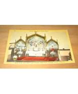Vintage Interior St Anne's Catholic Church Postcard - $9.99