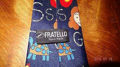 School Tie Letters Scissor Teacher Education Teaching Novelty Necktie Fratello image 4