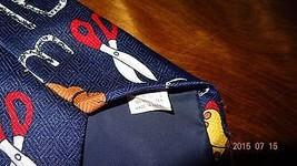 School Tie Letters Scissor Teacher Education Teaching Novelty Necktie Fratello image 3