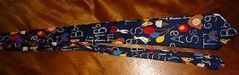 School Tie Letters Scissor Teacher Education Teaching Novelty Necktie Fratello image 8