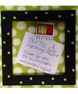 FRAME handpainted 7.5x7.5 Wee Bit Wicked LIMITED EDITION Kit Amy Bruecken  - $36.00