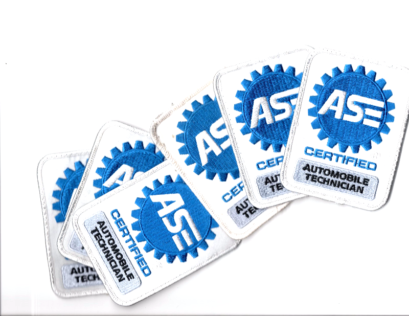 ase patch certified automotive technician mechanic sew automobile gas patches seller