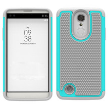 Rop protection hybrid case cover for lg fortune v1 k4 2017 cyan gray p20170310064637757 thumb200