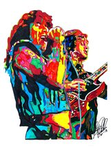 "Bon Scott, Angus Young, AC/DC, Lead Singer, Guitar, Hard Rock, 18""x24"" A... - $19.99"