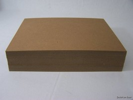 200 8.5 x 11 Cardboard Sheets to Stiffen Envelopes Chipboard Pads Photos... - $26.99