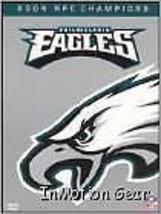 NFL Philadelphia Eagles 2004 NFC Champions DVD - $9.99