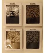 GENUINE MICHAEL KORS BROWN BLACK TAN PINK GRAY 2 PIECE SCARF & HAT S... - $42.99