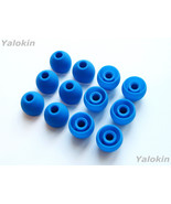 12pcs Large Blue Soft Replacement Eartips Earbuds for Monster In-Ear Ear... - $10.99