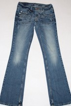 American Eagle Outfitters Women's Denim Jeans Size 2 Reg Limited Blue Issue - $15.79