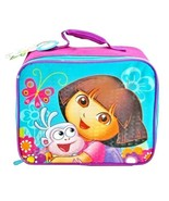 DORA THE EXPLORER Nicelodeon Butterfly Insulated Lunch Bag - $11.98