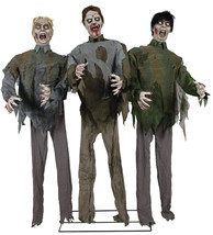Animated Life Size Walking Dead ZOMBIE HORDE Halloween Prop  SEE VIDEO - €223,04 EUR