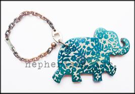 AUTH NWB Hermes HAATI ELEPHANT Animal Keyring K... - $550.00