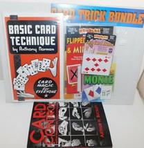 Houdini CARD TRICK BUNDLE Magic + Control Methods by A. Buckley  - $19.24