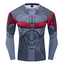 Sam Wilson Falcon Avengers Compression Fitted T-Shirt - $23.99