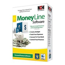 MoneyLine Personal Finance Checkbook Software - $45.00