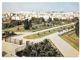 Tunisia Tunis Garden Jardin Habib Thameur Park Vintage 1965 Postcard 4X6... - $4.99