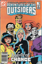 ADVENTURES OF THE OUTSIDERS # 36 - AUG., 1986 - DC COMICS - $3.95
