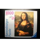 Ravensburger Jigsaw Puzzle 2007 Mona Lisa Leonardo Da Vinci Still Sealed... - $13.99
