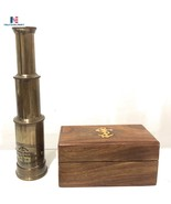 Brass Telescope Maritime Antique Nautical Vintage Birthday Gift  - $49.00