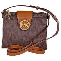 Sale! $179.95 Michael Kors Fulton Large Crossbody Handbag in Brown Free ... - $179.95