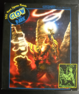 Ceaco Jigsaw Puzzle 2005 Wizard Glow In Dark 550 Pieces Still Sealed in Box - $6.99